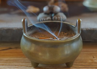 Home Buddhist ceremony