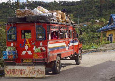 Jeepney ride to Tabuk