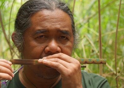 Mindanao - Talaandig musician
